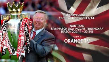Promo Liga Inggris di Orange TV. (Orange TV)