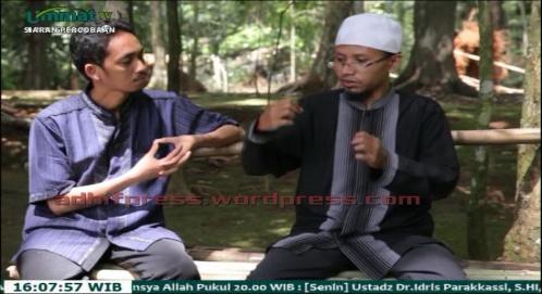 Siaran percobaan Ummat TV. (AdhifPress/Adhif)