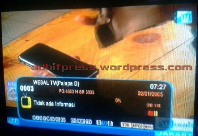 Program Intips Tekno di Wesal TV. (AdhifPress/Adhif)
